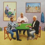Hockney, card players